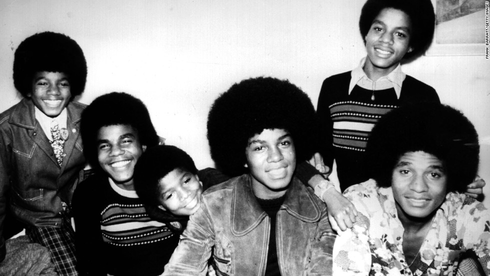 "The Jackson 5 -- which consisted of, from left, Michael, Tito, Jermaine, Marlon and Jackie (Randy is also pictured between Tito and Jermaine) -- set the gold standard for sibling bands. Formed in the late '60s, the band was behind some of the most memorable hits from the '70s, including ""ABC,"" ""Never Can Say Goodbye"" and ""I'll Be There."""