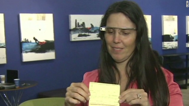 Ticketed for driving with Google Glass