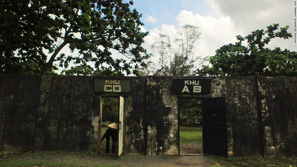 The Tiger Cages in the Con Dao islands were French and American-built prisons where Vietnamese prisoners were tortured, and where South Vietnamese tortured the Viet Cong.