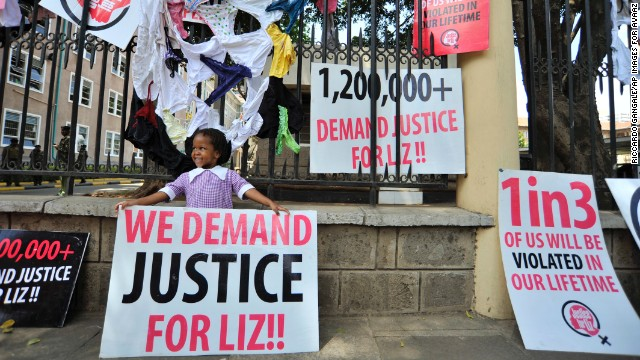 Kenyans take to streets to protest rape