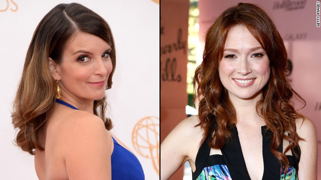 Tina Fey (left) is writing and producing a new comedy that will star Ellie Kemper.