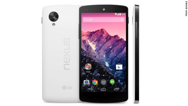 Google on Thursday announced its new Nexus 5 smartphone, which went on sale immediately.