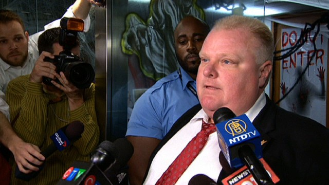 Toronto mayor: 'I am not perfect'