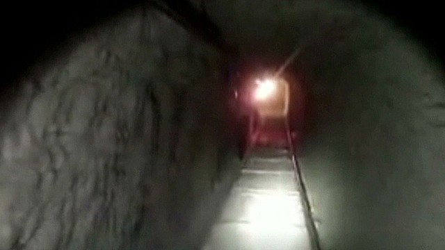 Massive drug tunnel discovered in bust