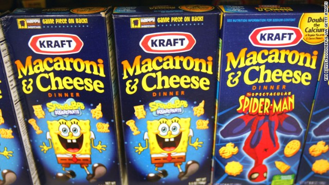 Kraft removing artificial dyes from some mac and cheeseKraft Macaroni And Cheese Spongebob