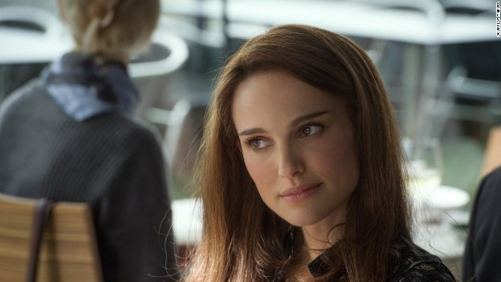 The 32-year-old Israeli-born American plays the love interest of Marvel Comics superhero Thor in the Hollywood blockbuster premiering this week. Jane Foster (pictured here) was originally a nurse, but was recast as a scientist for the film.