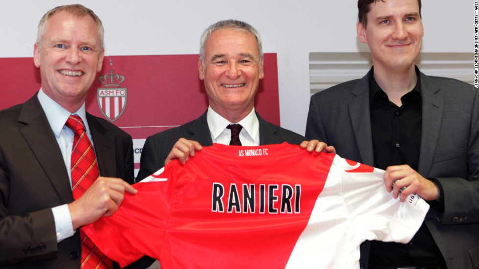 "Tor Kristian-Karlsen, pictured here on the right unveiling manager Claudio Ranieri, is the former chief executive of Monaco. He is confident that, even if the 75% rule comes into force, it will not adversely effect the French national team. ""The best players will always go abroad,"" he told CNN. ""You already have French players in Bayern Munich and Real Madrid. An exodus of French players will not have an impact on the international team."""