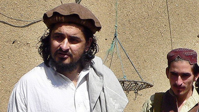 (FILES) This photograph taken on October 4, 2009 shows then new Pakistani Taliban chief Hakimullah Mehsud (L) arriving with his commander Wali-ur Rehman (R) for a meeting with local media representatives in the Sararogha area of South Waziristan along the Afghanistan border. A US drone strike in northwest Pakistan on November 1 2013 killed Pakistani Taliban leader Hakimullah Mehsud, intelligence and militant sources told AFP. The drone fired two missiles at a vehicle in a compound near Miranshah, the main town of the North Waziristan tribal region, a stronghold for Taliban and Al-Qaeda linked militants, killing four people, security officials said. AFP PHOTO/NASEER MEHSUDNASEER MEHSUD/AFP/Getty Images