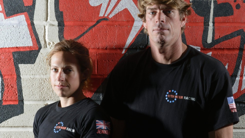 Rob Windsor and Hannah Jenner want to pioneer a more environmentally friendly approach to long-distance sailing during the Transat Jacques Vabre race.