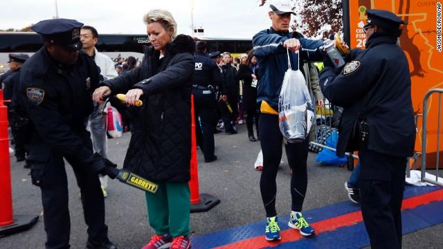 Marathon dream interrupted by Sandy