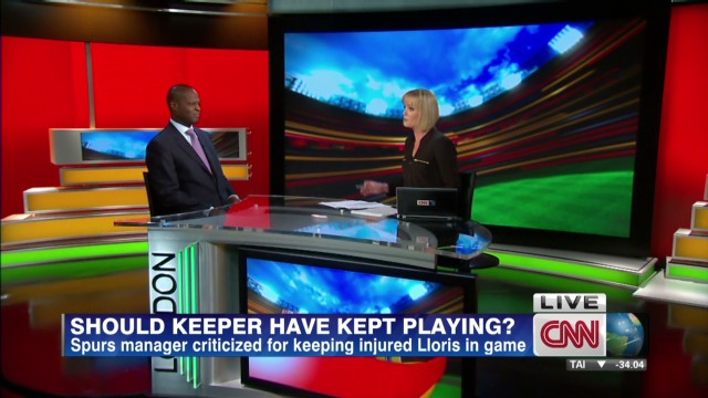 Should injured players keep playing?