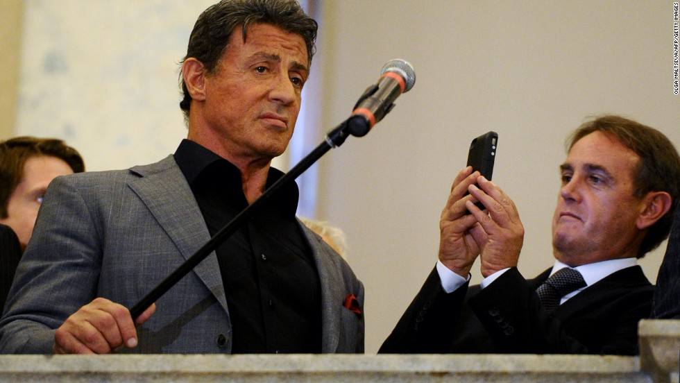 Dealing with themes like triumph, failure and chaos, Stallone reveals himself as a man who's more than just a gruff, muscled hero out to beat the odds, but someone who's emotional and even intellectual.