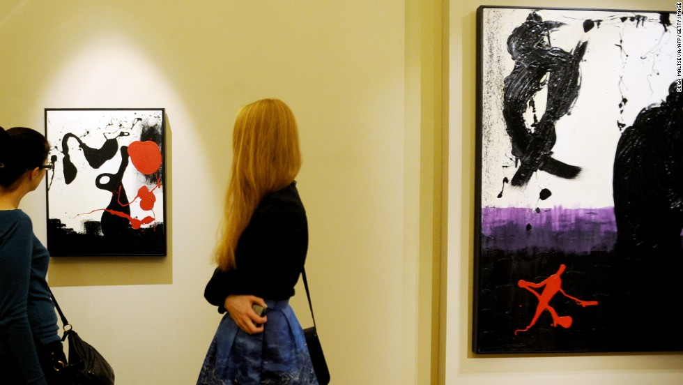 The exhibition is held at the Russian Museum in St. Petersburg, Russia and is open Wednesday-Sunday, 10 a.m.-6 p.m., Monday, 10 a.m.-5 p.m. Tickets for adults cost RUB 300 ($9.91), students RUB 150 ($4.95).