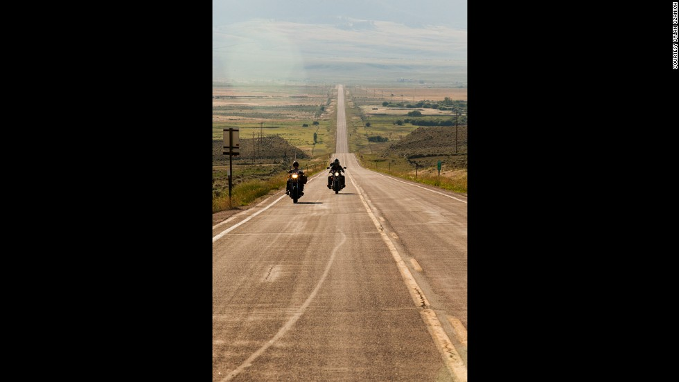 Shown here in Eastern Washington, the young men would sometimes spend 12 to 14 hours per day riding. Boots and leather jackets made for riding were key to their comfort.