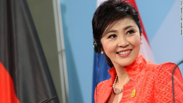 Yingluck, Thailand's first female prime minister, is on her first state visit outside of Asia since she took office in 2011.