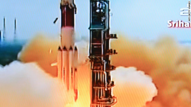 India launches mission to Mars