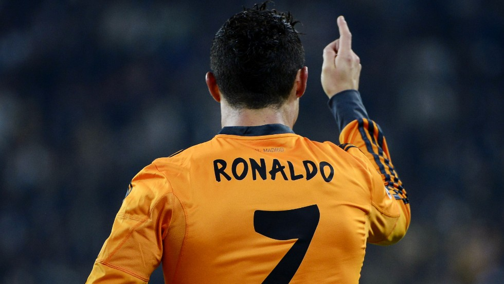 Cristiano Ronaldo has no doubt who is No.1 after scoring Real Madrid's equalizer in their 2-2 draw at Juventus.