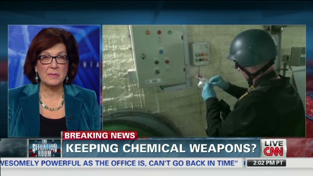 Official: Syria hiding chemical weapons