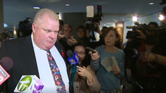 Toronto Mayor: 'I'm not an addict'
