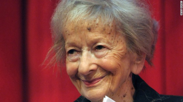 Wisława Szymborska was Poland's first Nobel laureate for literature.