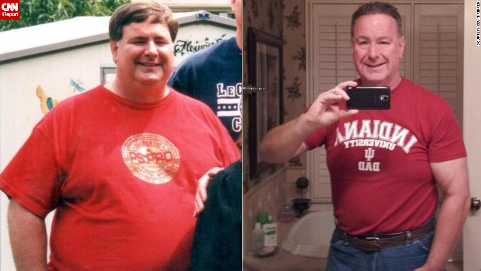 When he turned 55, Pippen decided it was time to make a change. He started walking and watching what he ate. He stuck to a low-carb diet for about a year, losing 117 pounds.