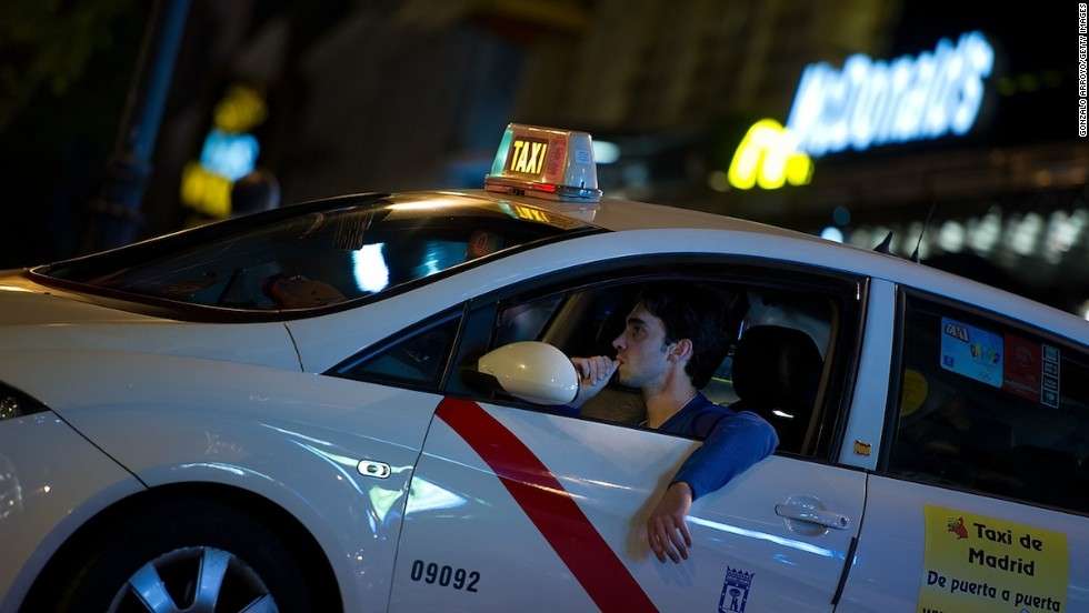 Madrid's taxis, easily recognizable by the bright red stripe that cuts across the front doors, also scored high marks among Hotels.com voters. The Spanish capital tied for fifth with Mexico City and Amsterdam.