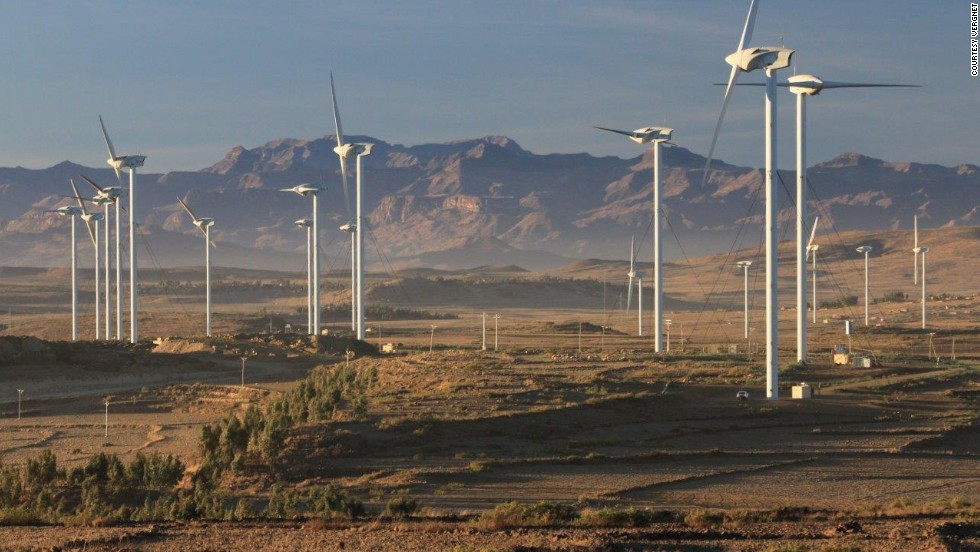 Last month Ethiopia opened The Ashegoda Wind Farm -- one of the continent's largest -- in a bid to boost its generating capacity over the next three to five years.