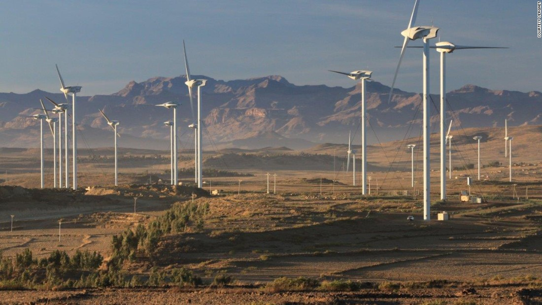The project follows Ethiopia's Ashegoda Wind Farm, completed in 2013 ...