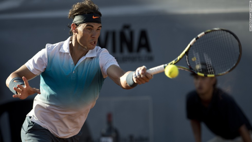 In the distant setting of Chile, Nadal returned to action in the doubles event at the ATP Vina del Mar on February 5 after 222 days away. He duly reached the final of the singles, only to lose to little-known Argentinian Horacio Zeballos.