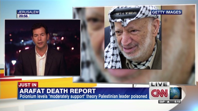 Arafat death report issued