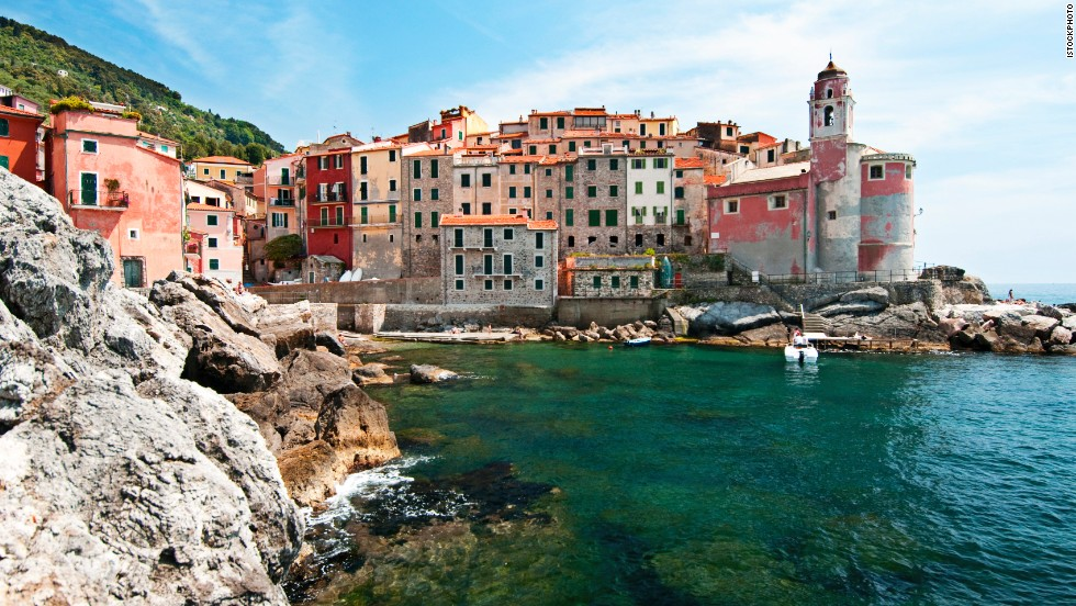 Travelers intent on getting to Tellaro must brave cliff-top roads or navigate a minuscule harbor.