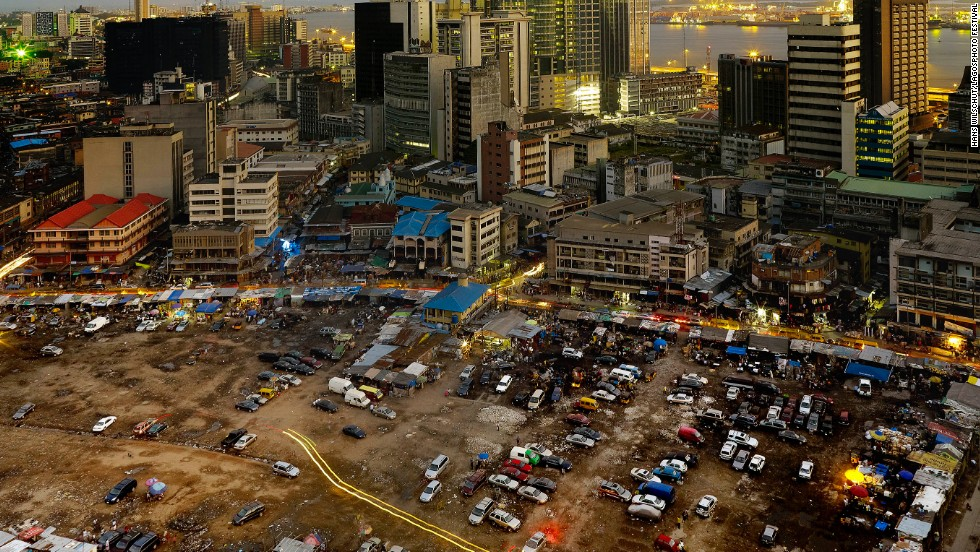 Also exhibiting at the festival, <em>Centre of Excellence (2012) -- </em>a series of photos of Lagos by by Dutch photographer Hans Wilschut.