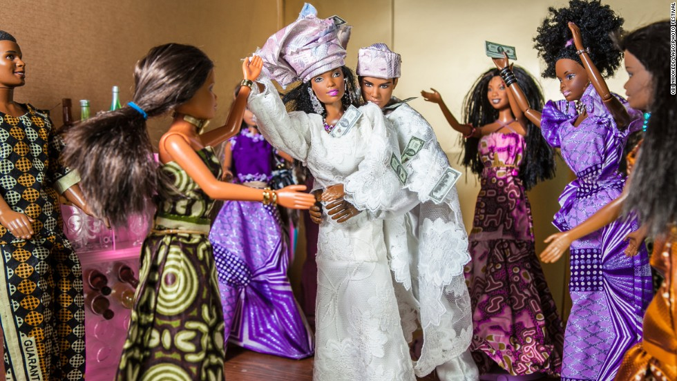 <em>The Black Barbie Traditional Wedding (2012)</em>, by Obi Nwokedi, a Nigerian portrait and wedding photographer based in London