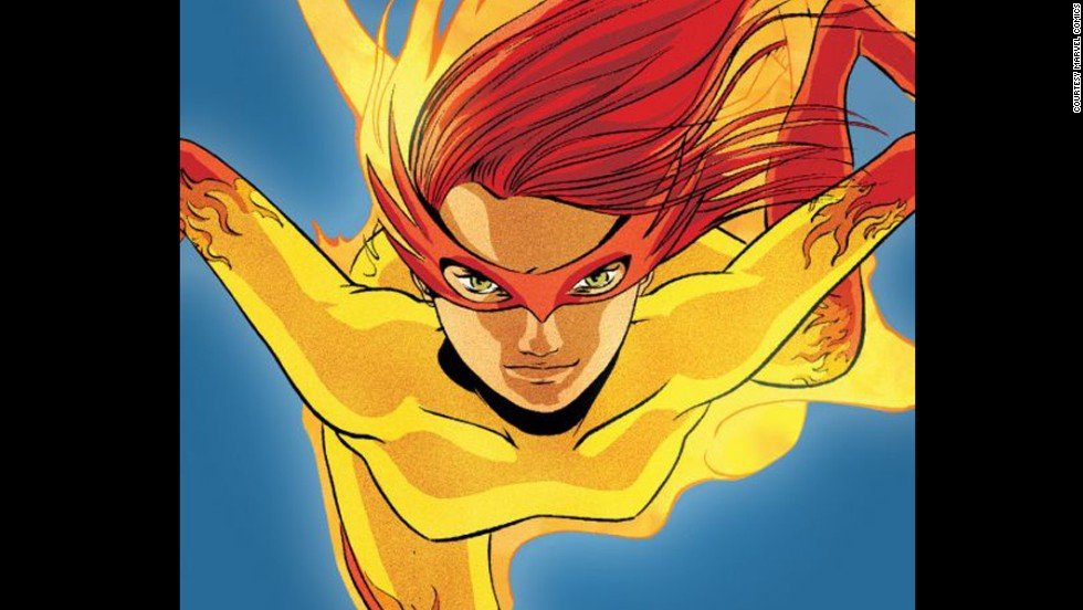 Angelica Jones, Marvel's Firestar, made her first appearance in 1981.