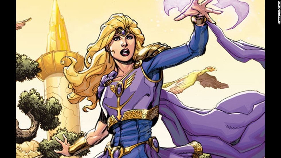 Amy Winston, DC's Amethyst, made her first appearance in 1983.