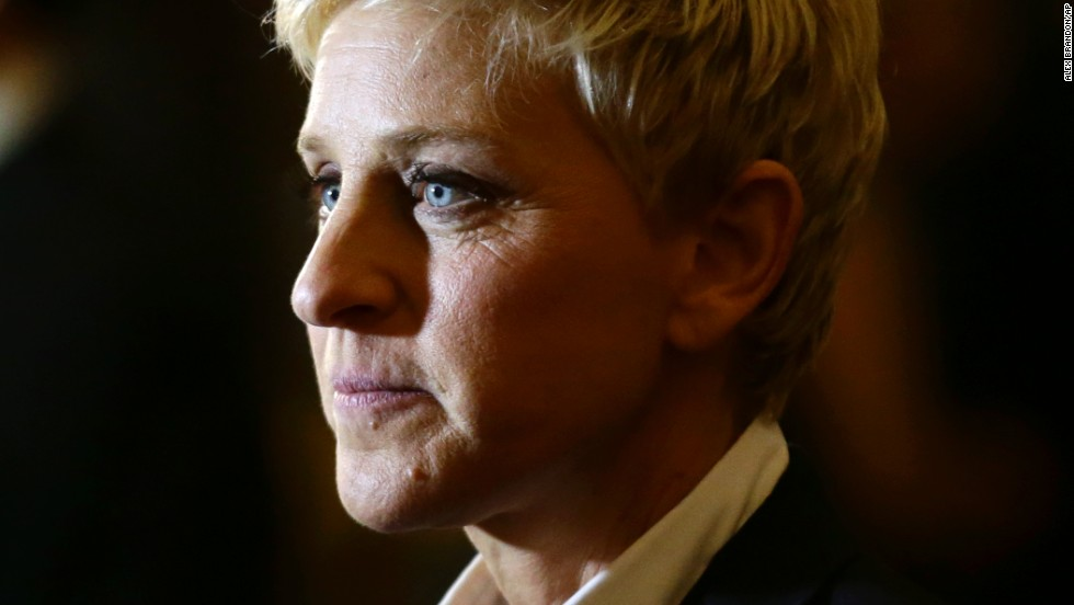 """<strong>TV personality:</strong> Ellen DeGeneres (<a href=""""https://twitter.com/TheEllenShow"""" target=""""_blank"""">@TheEllenShow</a>) has 24.8 million followers. Her bio reads: """"Comedian, talk show host and ice road trucker. My tweets are real, and they're spectacular."""""""