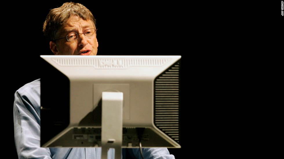 """<strong>Business executive:</strong> Bill Gates (<a href=""""https://twitter.com/BillGates"""" target=""""_blank"""">@BillGates</a>) has 14.9 million followers. His bio reads: """"Sharing things I'm learning through my foundation work and other interests..."""""""