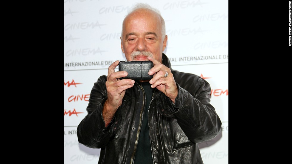 "<strong>Author:</strong> Paulo Coelho (<a href=""https://twitter.com/paulocoelho"" target=""_blank"">@paulocoelho</a>) has 8.9 million followers. His bio reads: ""Writer."""