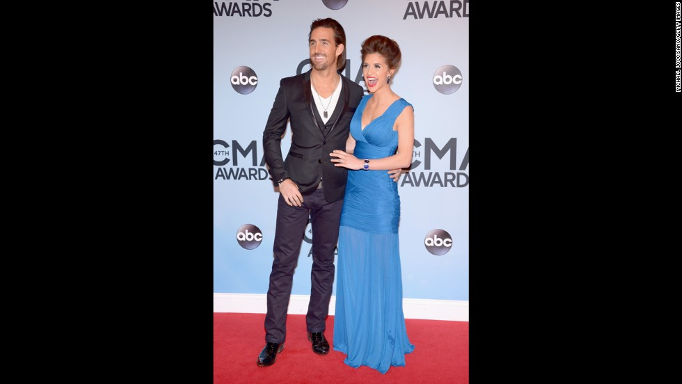 Jake Owen and his wife, Lacey Buchanan