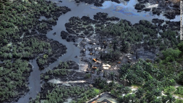 Niger Delta oil spill blame game