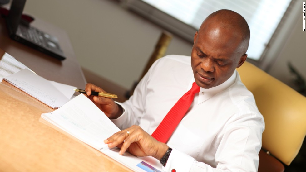 Through the Tony Elumelu Foundation, which he started after retiring from his banking career, he mentors young African professionals and gives them opportunities with African-owned companies across the continent.