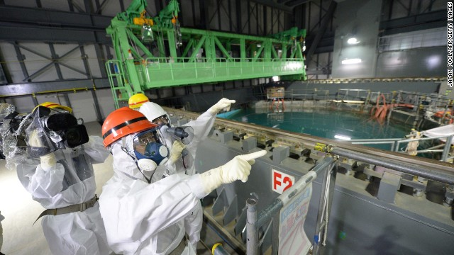 Visiting the Fukushima plant