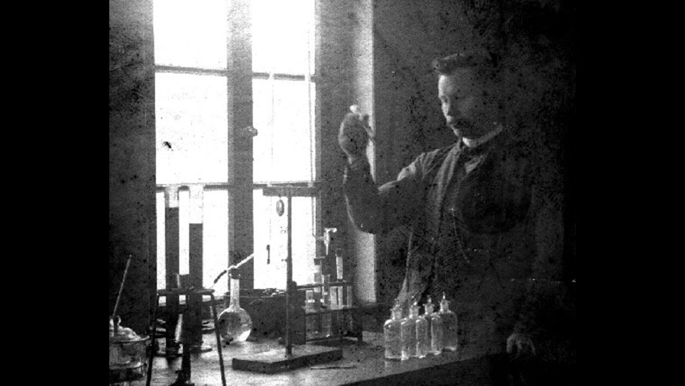 """How would you like to be known as the scientist who discovered """"fat hardening""""? <a href=""""http://lipidlibrary.aocs.org/history/Normann/index.htm"""" target=""""_blank"""">Wilhelm Normann</a> was awarded a patent in 1903 for the """"Process for the Conversion of Unsaturated Fatty Acids or Their Glycerides into Saturated Compounds."""" Basically, Normann figured out how to turn liquid oils into a thicker, firmer substance through hydrogenation. This solid fat was less likely to spoil and cheaper to produce and transport."""