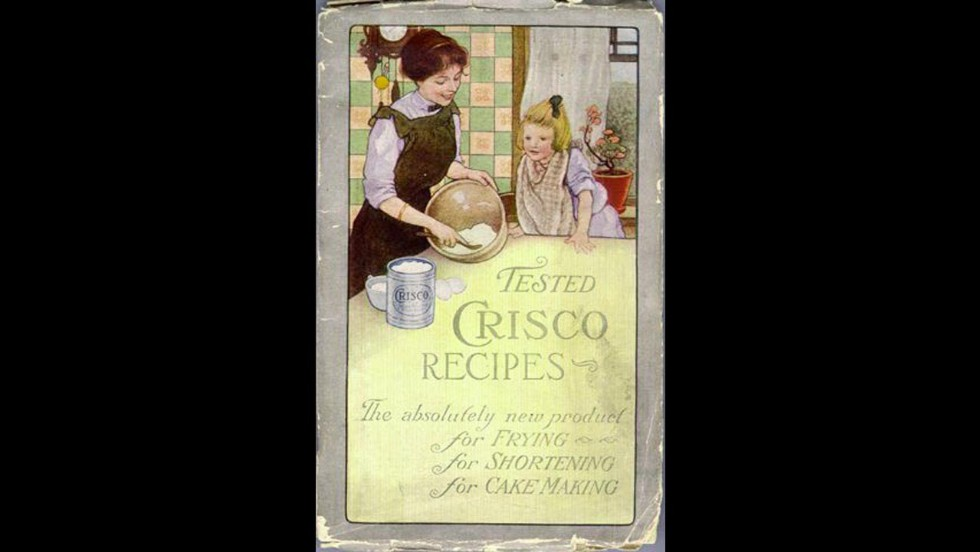 "Procter & Gamble<a href=""http://www.crisco.com/About_Crisco/History.aspx"" target=""_blank""> introduced </a>Crisco to consumers in 1911 to ""provide an economical alternative to animal fats and butter."" The vegetable shortening was the first manufactured food product to contain trans fat."