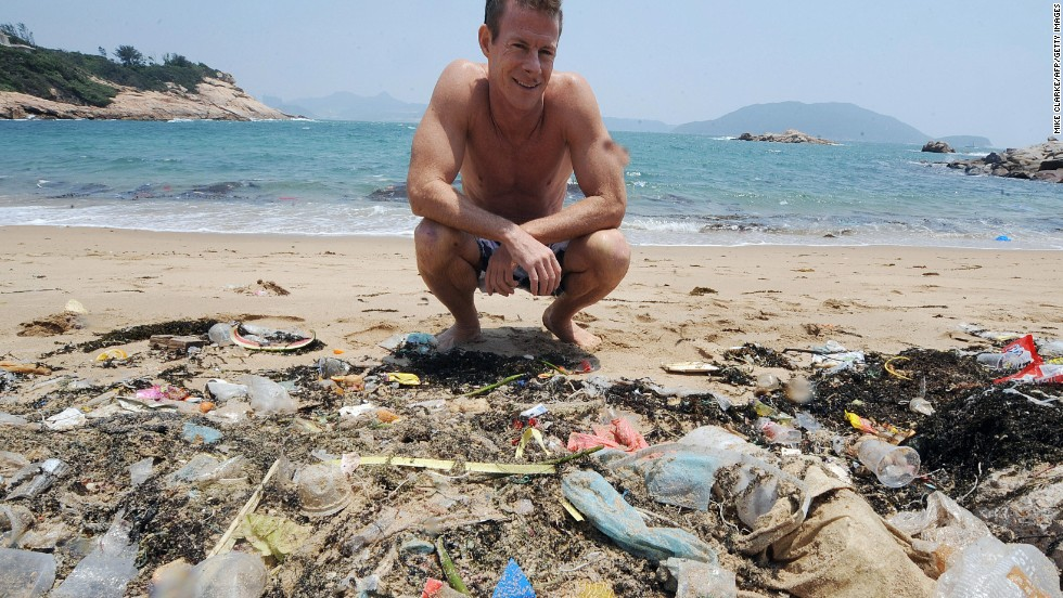 dumping waste into the ocean More than half of the plastic waste that flows into the oceans that makes its way into the ocean  8 million tons of plastic is dumped into the world.