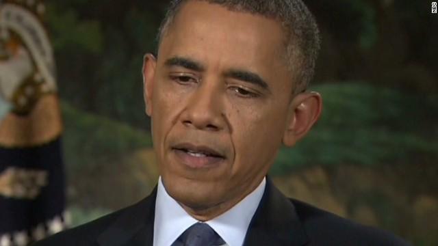 President Obama: 'I am sorry'