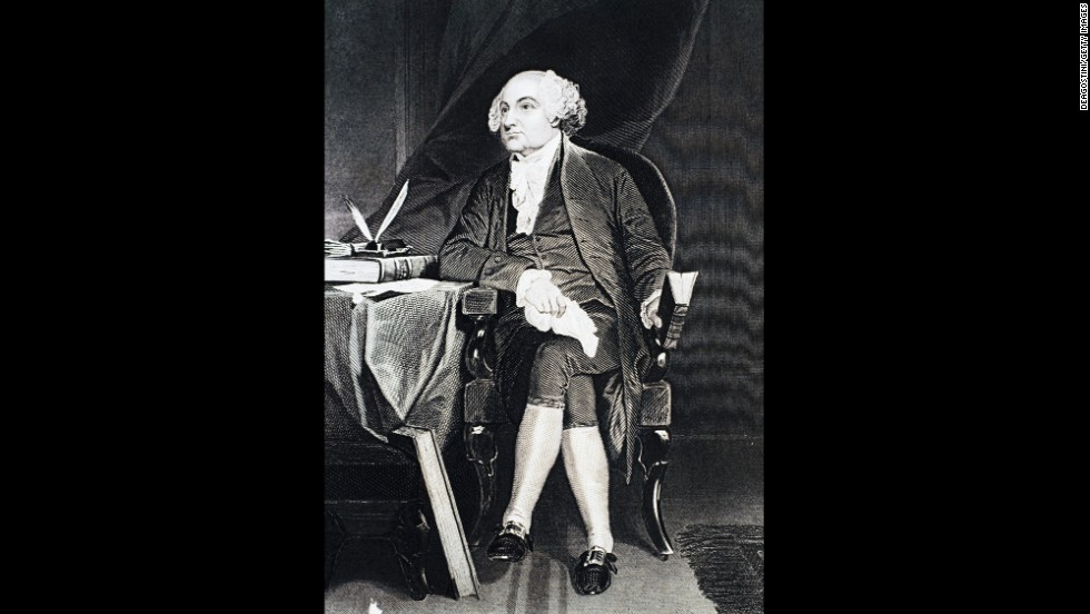 John Adams was the second president of the United States.. His son John Quincy Adams was the sixth President.