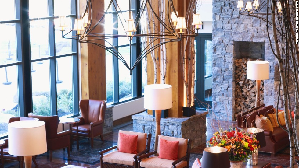 Easy access to the slopes, family-friendly Segway tours and kid-focused spa treatments are draws at Stowe Mountain Lodge in Vermont.