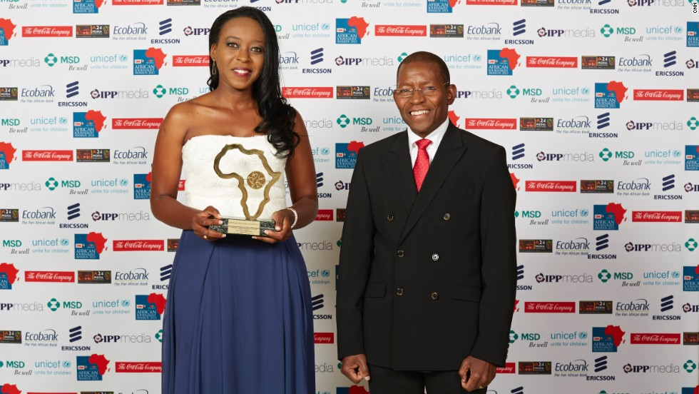 The Portuguese Language General News TV/Radio Award winner was Selma Inocência (left) from Rede de Comunicação Miramar, Mozambique.