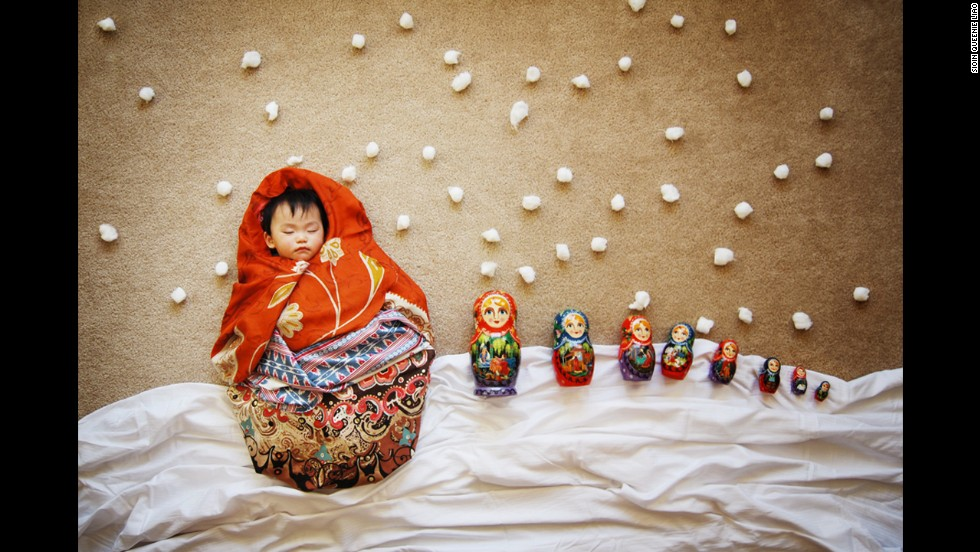 A coveted collectable, this matryoshka doll set includes the most precious of all dolls.